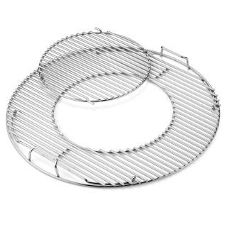 Weber GBS Edelstahl Grillrost für Holzkohlegrills mit Durchmesser 57 cm
