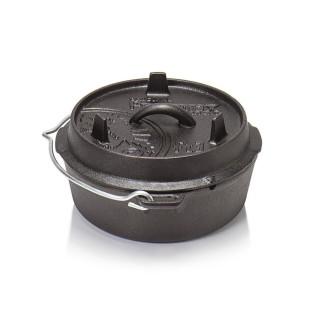 Petromax ft3-t Dutch Oven Guss Feuertopf mit planen Boden