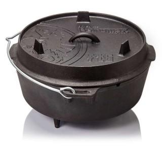 Petromax ft6 Dutch Oven Guss Feuertopf mit Standfüßen