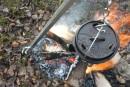 Petromax Dreibein mit Kette und Hacken