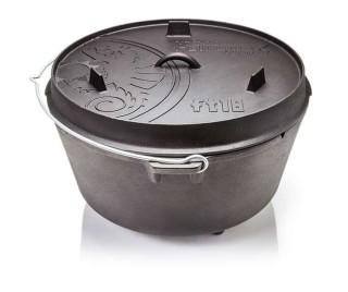 Petromax ft18 Dutch Oven Guss Feuertopf mit Standfüßen
