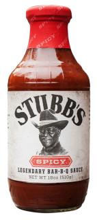 Stubb`s Spicy Bar-B-Q Sauce 450ml