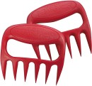 Bear Paws Grillgabel Grizzly Edition Farbe rot (2...