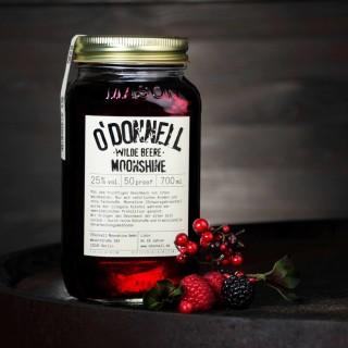 O`Donnell Moonshine Wilde Beere im Mason Jars (700ml, 25%vol.)
