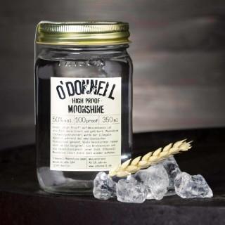 O`Donnell Moonshine High Proof im Mason Jars (350ml, 50%vol.)