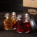 O`Donnell 4 Stk. Mason Jar Shotgläser, 4cl