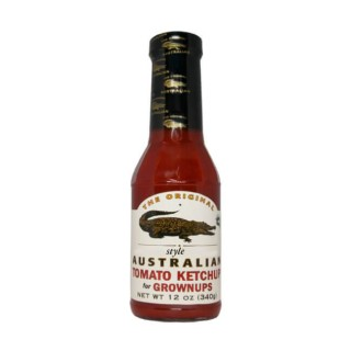 Tomato Ketchup for Grownups BBQ Sauce 355ml von The Original Australian