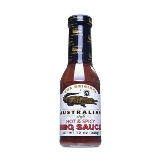"""Hot & Spicy BBQ Sauce  355ml von """"The Original Australian"""""""