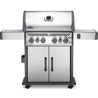 Napoleon Gasgrill Rogue SE 525 Special Edition Edelstahl, Sizzle Zone, Heckbrenner