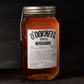O`Donnell Moonshine Toffee im Mason Jars (700ml, 25%vol.)