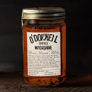 O`Donnell Moonshine Toffee im Mason Jars (350ml, 25%vol.)