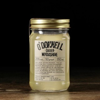 O`Donnell Moonshine Sauer im Mason Jars (350ml, 25%vol.)
